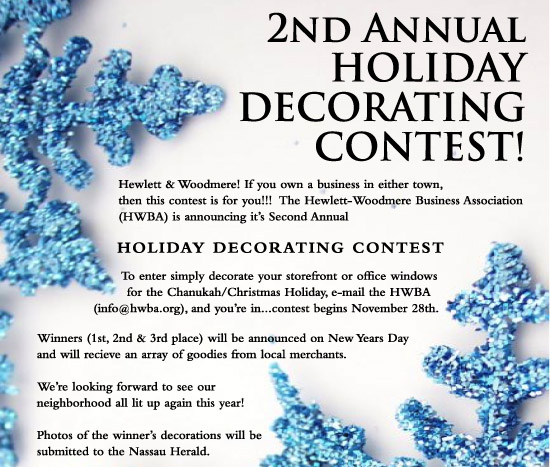 Hewlett-Woodmere Holiday Contest