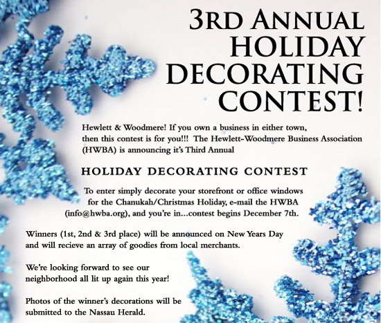 HWBA Holiday Store Decoration Contest